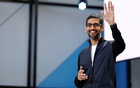 Google CEO Sundar Pichai speaks on stage during the annual Google I/O developers conference in San Jose, California, US, May 17, 2017. Reuters