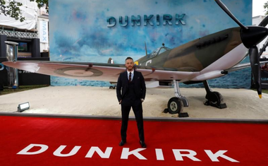 Actor Tom Hardy arrives for the world premiere of Dunkirk in London, Britain, July 13, 2017. Reuters
