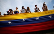 Opposition supporters attend a rally to pay tribute to victims of violence during protests against Venezuelan President Nicolas Maduro's government in Caracas, Venezuela, Jul 24, 2017. Reuters