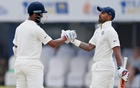 Centuries from Dhawan, Pujara put India in charge at Galle