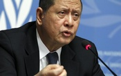 UN Special Rapporteur Marzuki Darusman addrrsses a news conference on the situation of human rights in North Korea in Geneva March 16, 2015. Reuters