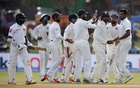 India take charge of first Test against Sri Lanka