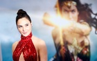 Cast member Gal Gadot poses at the premiere of