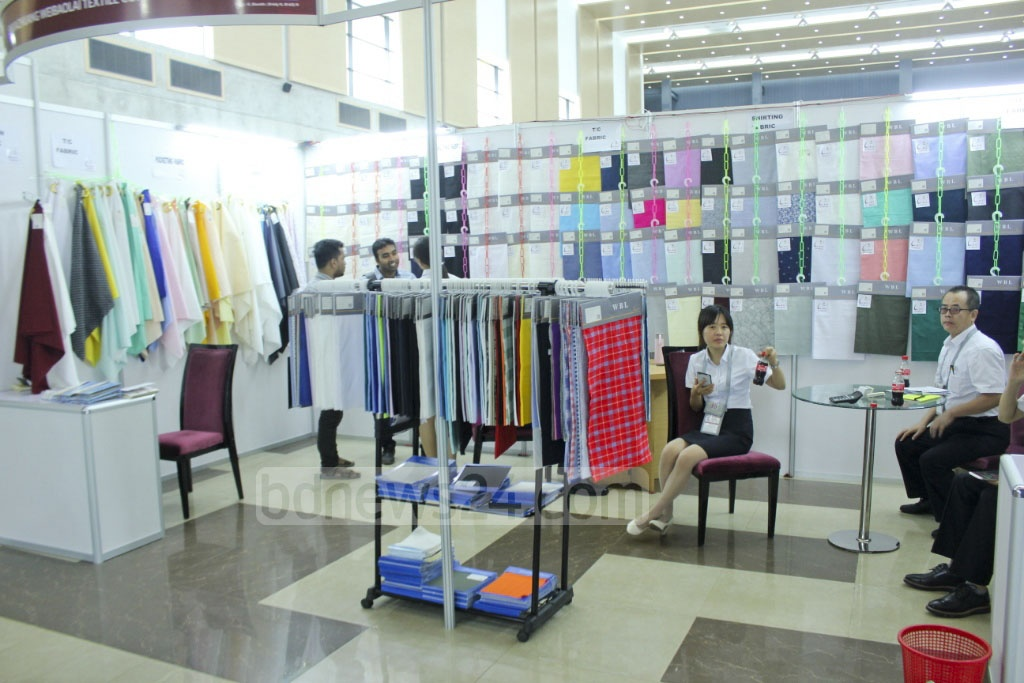 TexTech Bangladesh, an international exhibition of textile and garment machines, cotton and chemical agents used in textile and apparel industry, was inaugurated at the International Convention City Bashundhara in Dhaka on Wednesday.