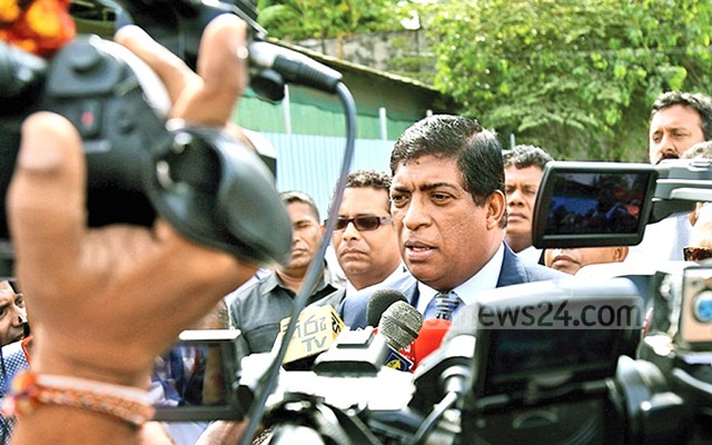 Sri Lanka's foreign minister resigns 'with pride' over corruption allegations