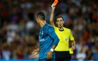 Ronaldo hit with five-match ban after shoving referee
