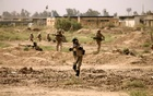 File Photo: Iraqi Army's 53rd Brigade participate in a live ammunition training exercise with coalition forces trainers at Taji military base north of Baghdad, Iraq Aug 9, 2017. Reuters