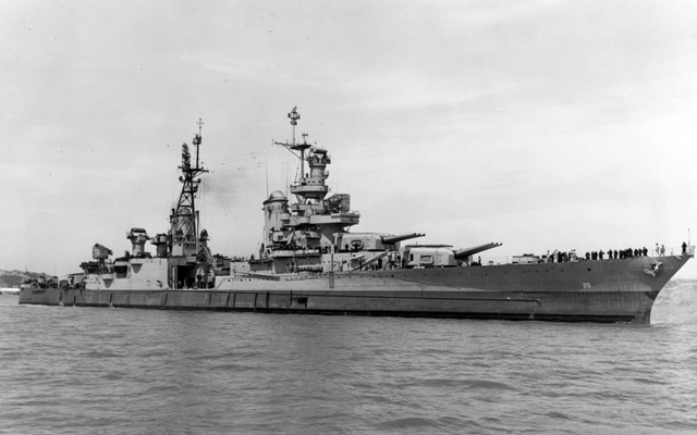USS wreckage Indianapolis found after seven decades