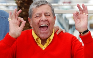Cast member Jerry Lewis poses during a photocall for the film