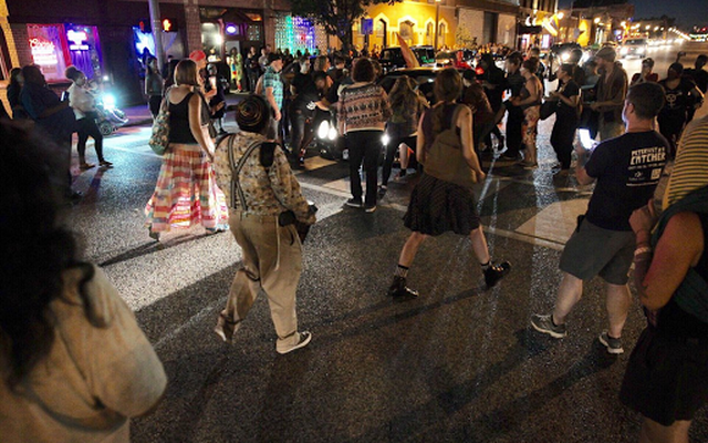 Motorist Injures Marchers After Vigil for Trans Woman Killed by Police