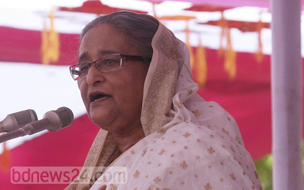 The government's assistance for flood victims will continue for three months after the water recedes, Prime Minister Sheikh Hasina said during a visit to flood-hit Gaibandha on Saturday.
