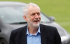 Britain's opposition Labour Party leader Jeremy Corbyn arrives at BAWA Sports and Leisure Centre in Bristol, Britain Aug 11, 2017. Reuters