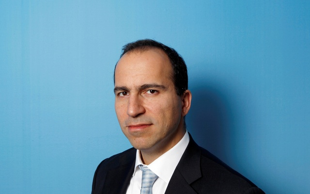 This 2010 photo shows Dara Khosrowshahi posing for a portrait during the 2010 Reuters Travel and Leisure Summit in New York, US. Reuters