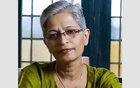 Gauri Lankesh. Photo taken from her Facebook page