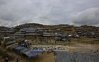 Rohingyas fleeing violence in Myanmar are building temporary residences on the Balukhali Hill in Cox's Bazar's Ukhia. Photo: mostafigur rahman