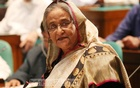 Prime Minister Sheikh Hasina speaks at Wednesday's parliament session. Photo: PMO