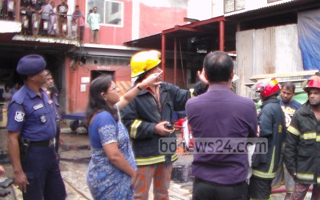 At least six dead after fire at Munshiganj textile factory
