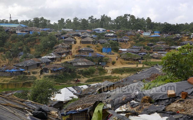 This bdnews24.com file photo shows a general view of the Kutupalong Refugee Camp in Cox's Bazar's Ukhiya.