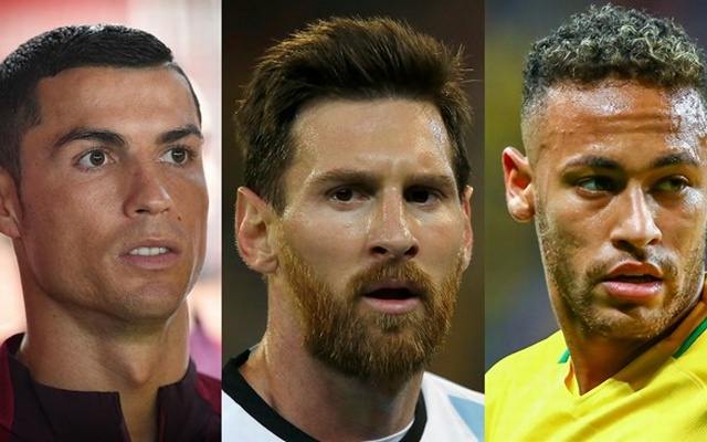Ronaldo, Messi and Neymar on FIFA player of the year shortlist