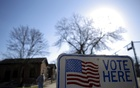 File photo: A voter arrives to cast their ballot in the Wisconsin presidential primary election at a voting station in Milwaukee, Wisconsin, US on Apr 5, 2016. Reuters