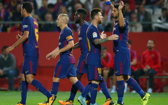 Two own goals gift Barcelona comfortable win over Girona