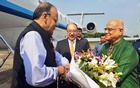 Indian Finance Minister Arun Jaitley arrives in Dhaka on three-day visit