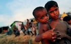 File photo: Rohingya refugee children look on at a refugee camp in Palang Khali near Cox's Bazar, Bangladesh, Oct 4, 2017. Reuters