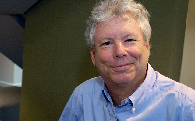 Richard Thaler, who has won the 2017 Nobel Economics Prize, poses in an undated photo provided by the University of Chicago Booth School of Business in Chicago, Illinois, US, Oct 9, 2017. Photo: University of Chicago Booth School of Business/ via Reuters