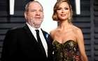 Producer Harvey Weinstein is seen with his fashion designer wife Georgina Chapman, who announced their separation after the sexual harassment allegations surfaced. Reuters file photo
