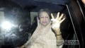 Khaleda Zia waves to her supporters who gathered on the Airport Road in Dhaka on Wednesday to welcome the BNP chief on her return from the UK after three months.