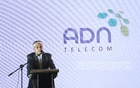 ADN Telecom Chairman Asif Mahmood at the roadshow