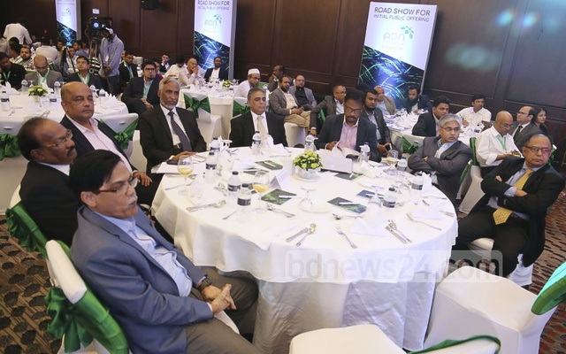 Besides top stock exchange officials, representatives of merchant banks, asset management firms, stock dealers, banks, non-banking financial institutions, insurance companies and issue managers were present at the roadshow.