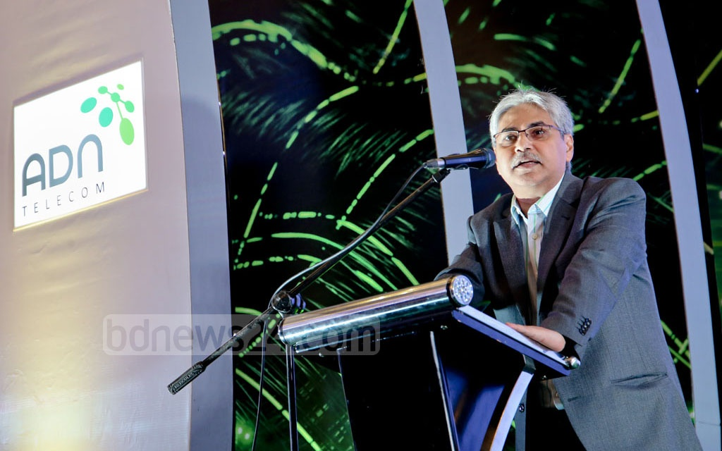 ADN Telecom Chairman Asif Mahmood says his firm will prove itself in action, not words. Photo: md asaduzzaman pramanik