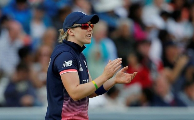 Women's Cricket World Cup Final - England vs India - London, Britain - July 23, 2017 England's Heather Knight Action Images via Reuters/Andrew Couldridge