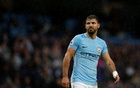 Premier League - Manchester City vs Burnley - Etihad Stadium, Manchester, Britain - October 21, 2017 Manchester City's Sergio Aguero REUTERS/Phil Noble