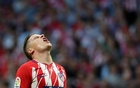 La Liga Santander - Atletico Madrid vs Villarreal - Wanda Metropolitano, Madrid, Spain - October 28, 2017 Atletico Madrid's Kevin Gameiro reacts after missing a chance to score. Reuters