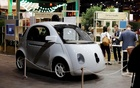 A self-driving car by Google is displayed at the Viva Technology event in Paris, France, Jun 30, 2016. Reuters