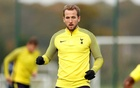 Tottenham's Harry Kane during training at Tottenham Hotspur Training Centre, London, Britain, October 31, 2017. Photo: Action Images via Reuters