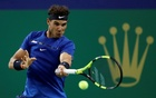 File Photo: Shanghai Masters tennis tournament - Shanghai, China - October 12, 2017 - Rafael Nadal of Spain in action against Fabio Fognini of Italy. Reuters