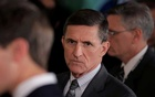 White House National Security Advisor Michael Flynn arrives prior to a joint news conference between Canadian Prime Minister Justin Trudeau and US President Donald Trump at the White House in Washington, DC, US on February 13, 2017. Reuters