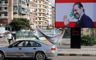 A billboard depicting Lebanon's Prime Minister Saad al-Hariri, who has resigned from his post, is seen in Beirut, Lebanon Nov 11, 2017. Reuters