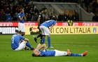 2018 World Cup Qualifications - Europe - Italy vs Sweden - San Siro, Milan, Italy - November 13, 2017 Italy players look dejected after the match. Reuters