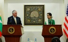 Suu Kyi shrugs off criticism for being silent over Rakhine situation