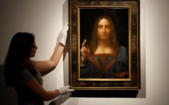 Da Vinci masterpiece sells for record $591 million