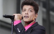 Singer Bruno Mars performs on NBC's