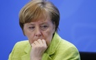 German Chancellor Angela Merkel attends a news conference following a meeting of the heads of international economy and finance organisations at the Chancellery in Berlin, Germany, Apr 10, 2017. Reuters