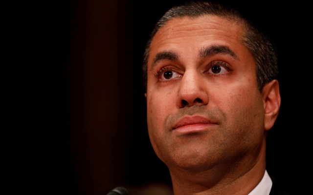 Ajit Pai, Chairman of the Federal Communications Commission, testifies before a US Senate Appropriations Financial Services and General Government Subcommittee on Capitol Hill in Washington, DC, US on Jun 20, 2017. Reuters