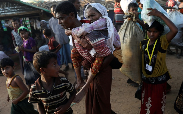 U.S.  condemns 'ethnic cleansing' of Rohingya in Myanmar