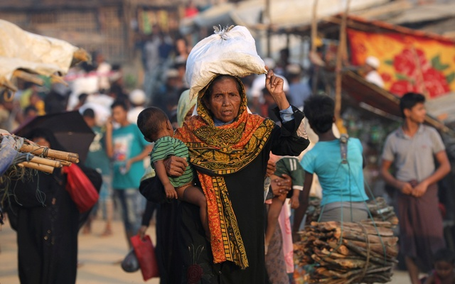 Additional UK aid given to Rohingya refugee crisis