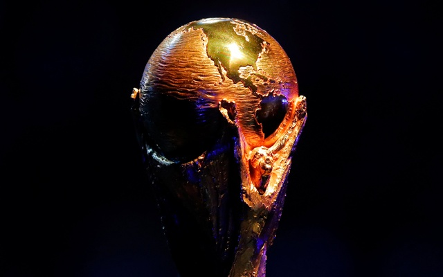 2018 FIFA World Cup Draw - State Kremlin Palace, Moscow, Russia - Dec 1, 2017 General view of the FIFA World Cup trophy during the draw. Reuters